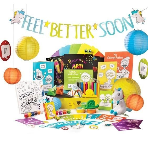 The ULTIMATE Feel Better Kit: All-in-One Activity Kit