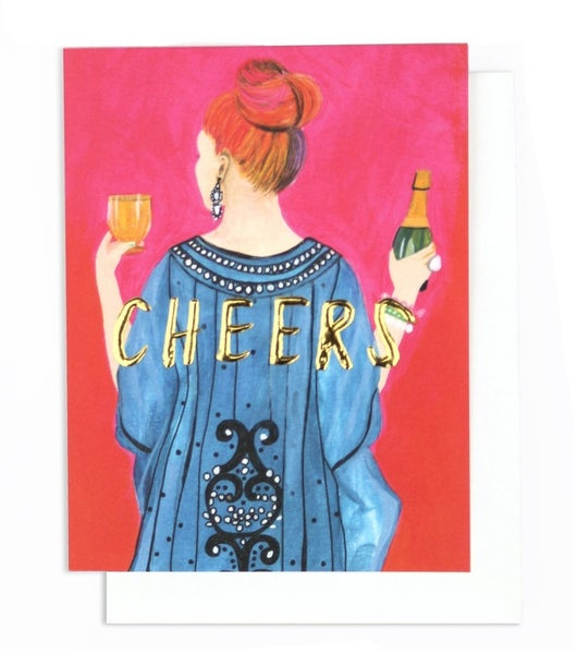 Tiffany Cheers! - Card