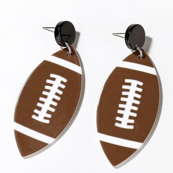 Friday Night Lights - Football Earrings