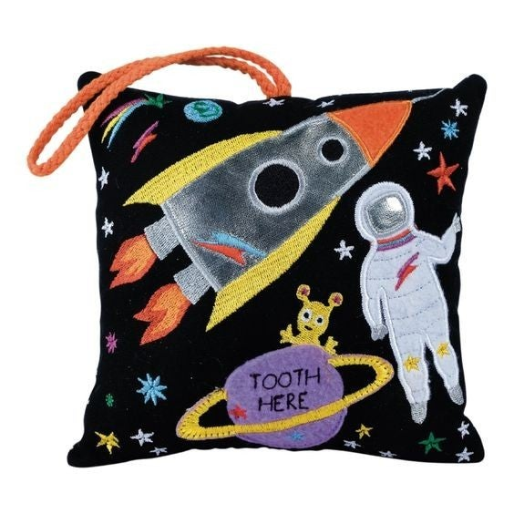 Out of this World - Hanging Tooth Fairy Cushion