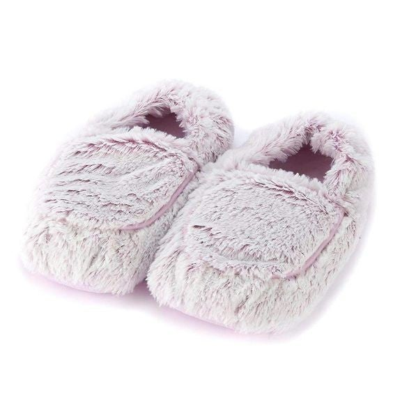Marshmallow Pink - Warmies Slippers - Fully Microwaveable