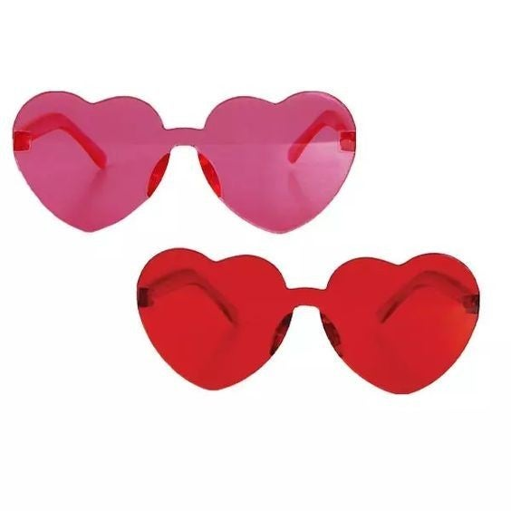 Queen of Hearts - Tinted Sunglasses