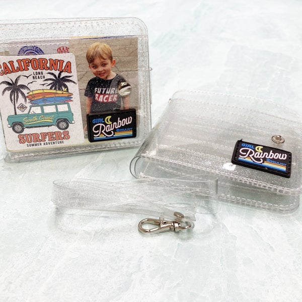 Katie's FAVE! DIY Glitter Wallet - Milkjoy