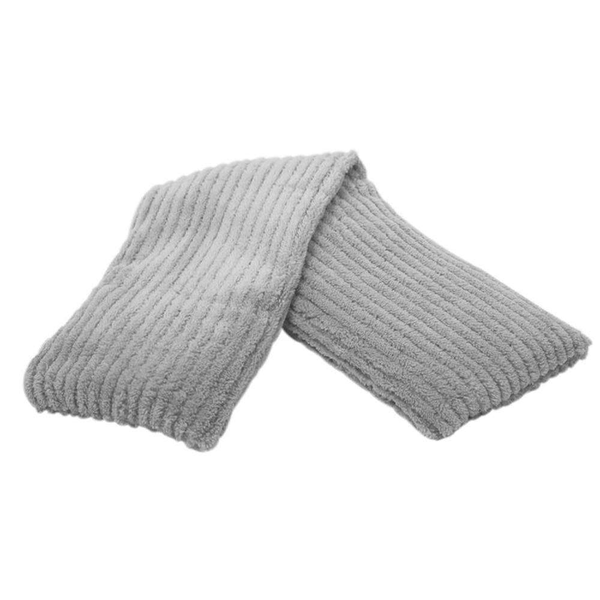Gray Corduroy - Heatable/Freezable Neck Wrap - Warmies