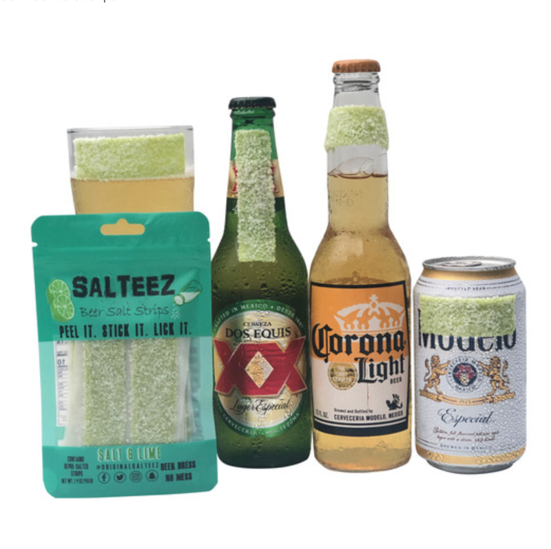 Salt & Lime - Salteez Beer Strips - 10 pack