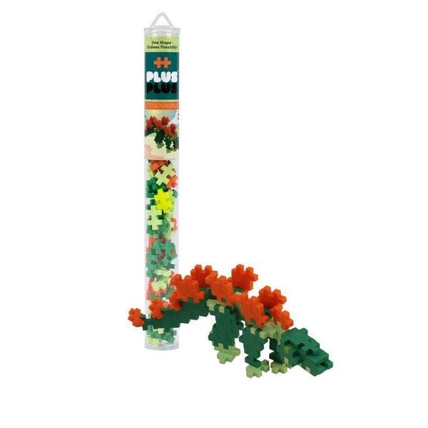 Stegosaurus - Plus-Plus 70 piece Tube