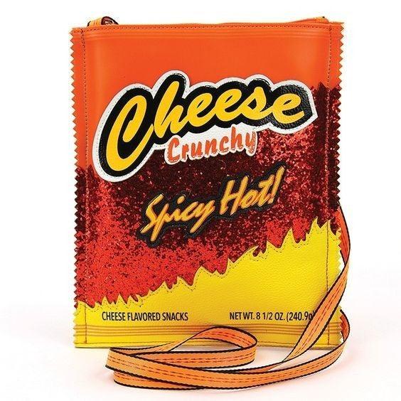 Cheese Crunch Crossbody Bag