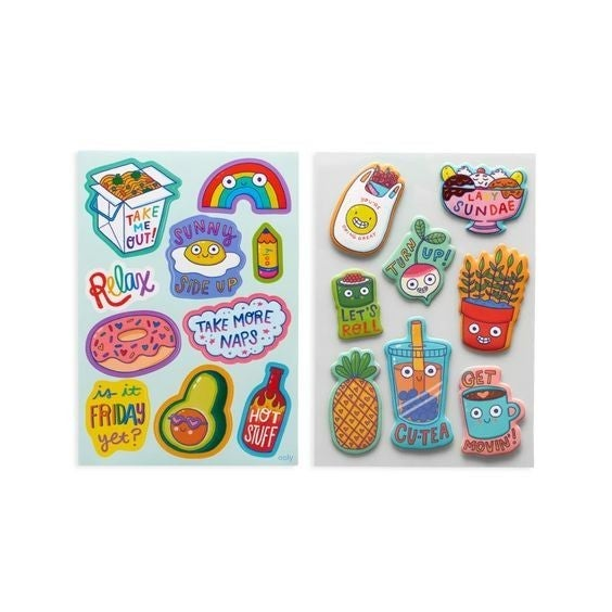 Quirky Fun - Stickers Stash - over 200 pieces!