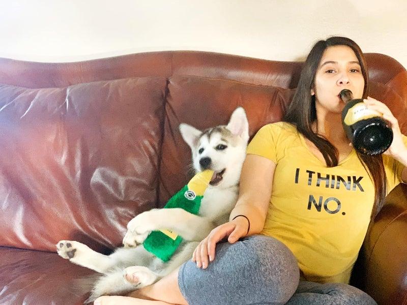 Champagne Crusherz - Dog Toy