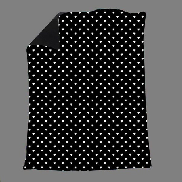 Heart Polka Dots Blanket
