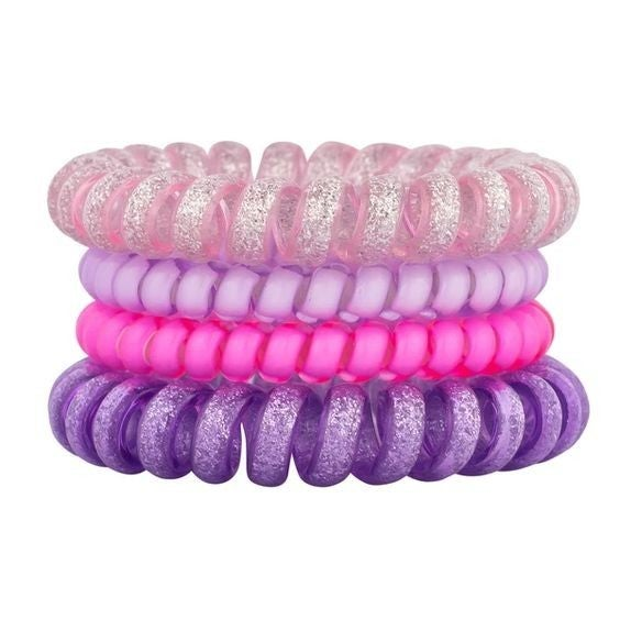 Slumber Party - Ouchless Coil Hair Tie Set