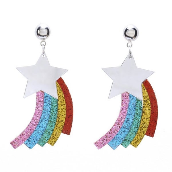 The More You Know - Rainbow Star - Earrings
