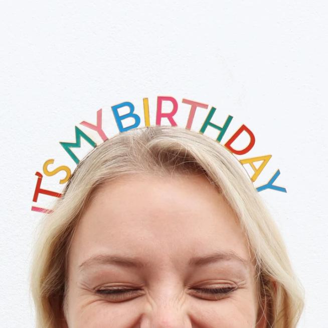 It's My Birthday - Headband