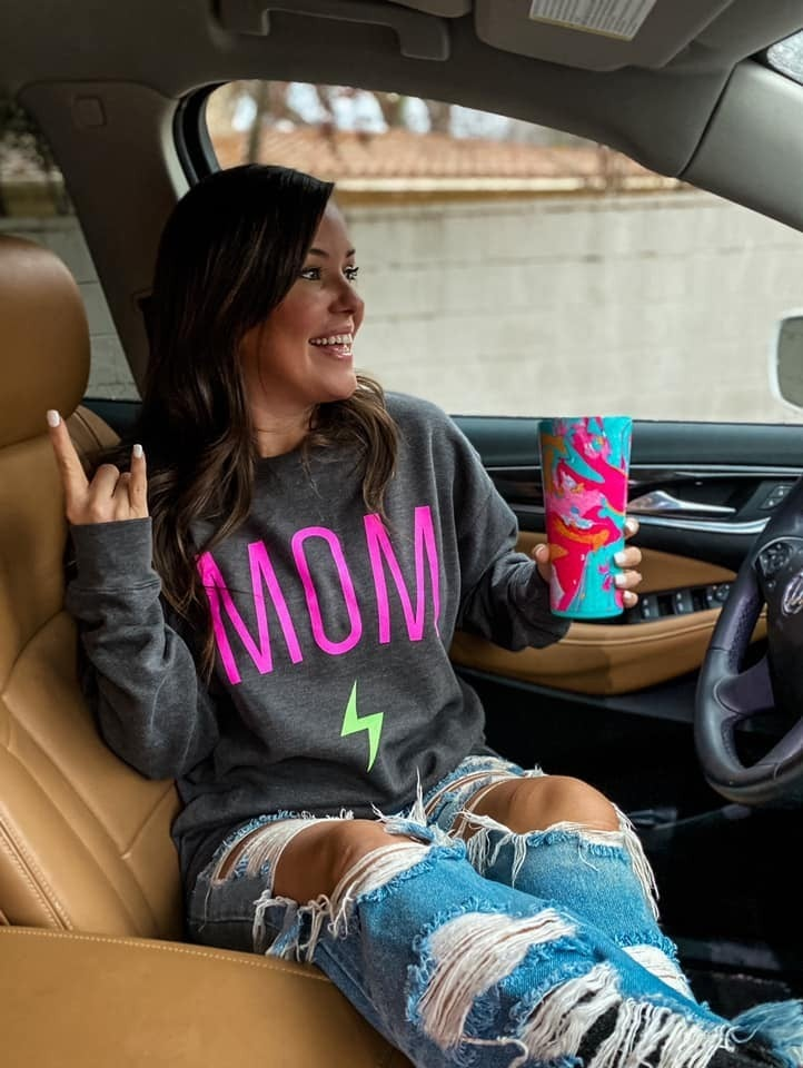 Moms Rock - Sweatshirt - Reg/Plus