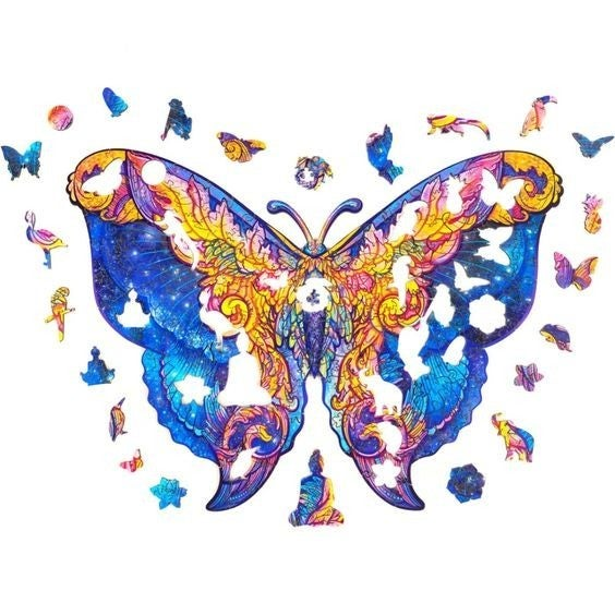 Beautiful Butterfly - Wooden Jigsaw Puzzle