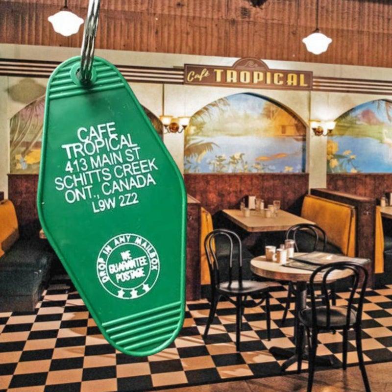 Cafe Tropical - Schitt's Creek - Motel Key Fob