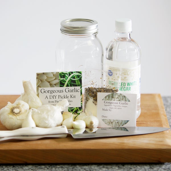 Gorgeous Garlic DIY Pickle Kit