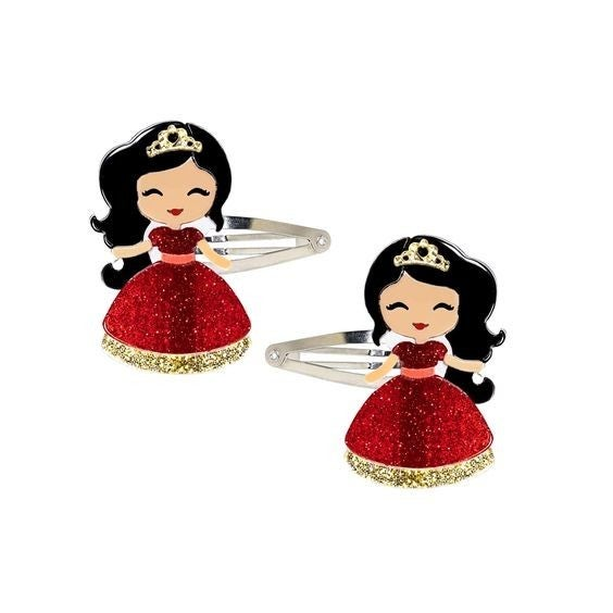 The Happiest Dolls on Earth - Pair of Hair Snap Clips