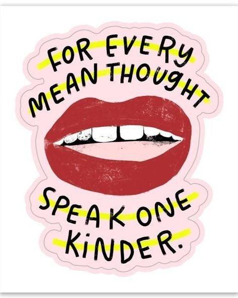 """Speak One Kinder - 3"""" Vinyl Sticker"""