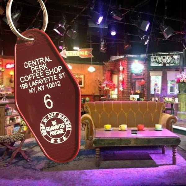 Central Perk - Motel Key Fob