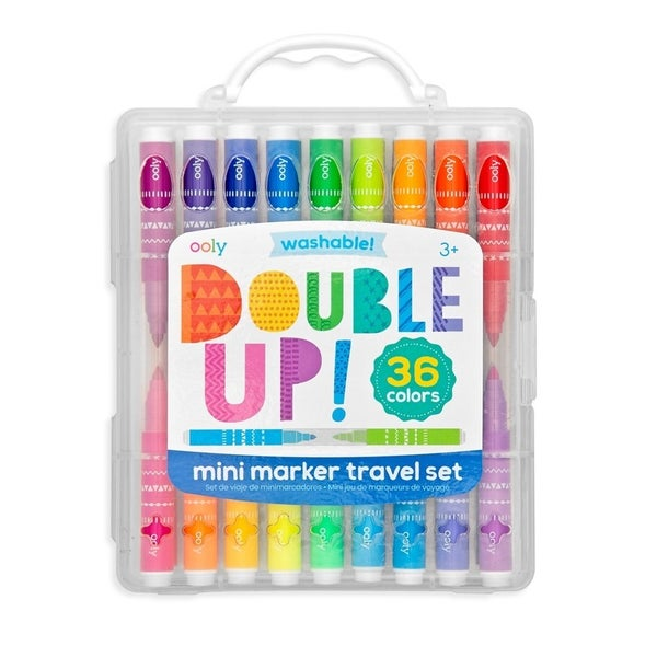 Double Up! - Mini-Markers 2-in-1 Set of 36