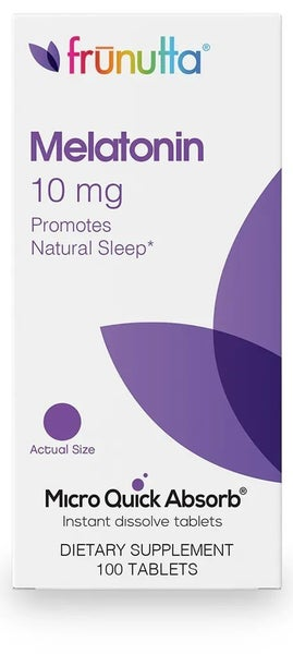 Katie's FAVE Melatonin 10mg Supplement - Micro-Dissolve
