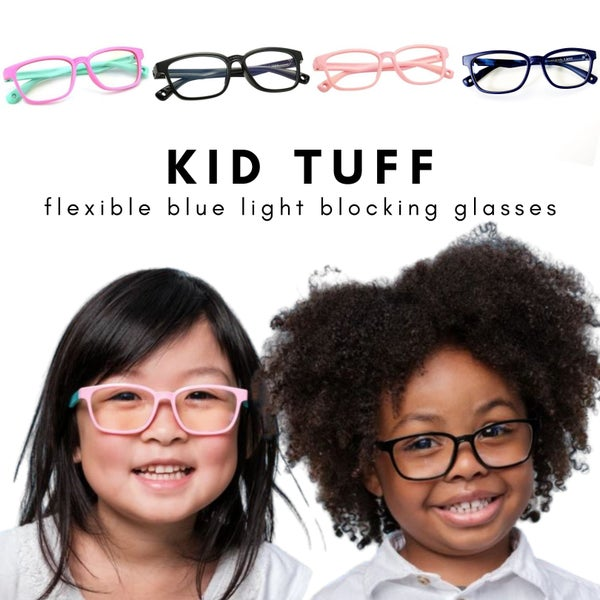 Kid Tuff - Flexible Blue Light Blocking Glasses