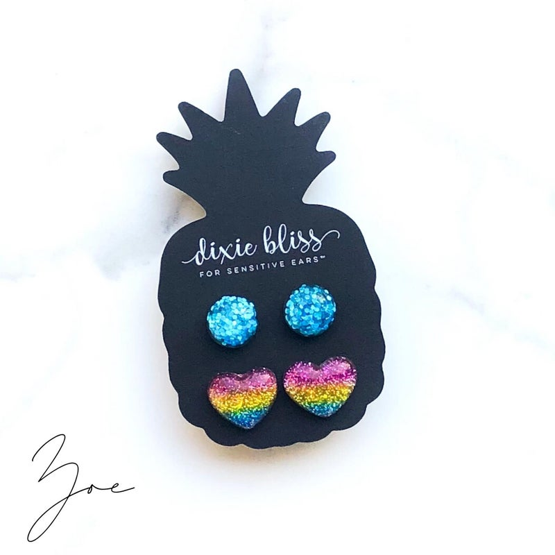 Zoe - Earrings Duo