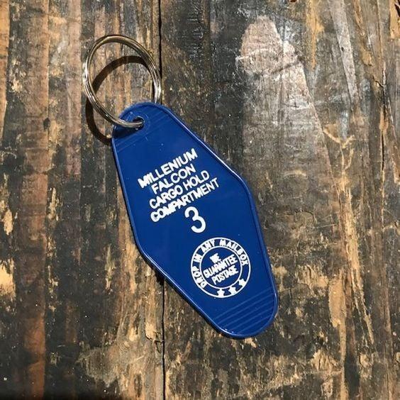 Millennium Falcon - Star Wars - Motel Key Fob