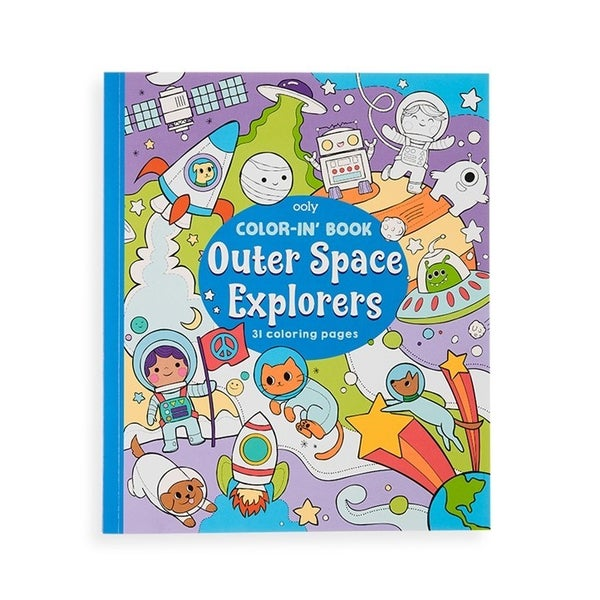 Outer Space Explorers - Coloring Book