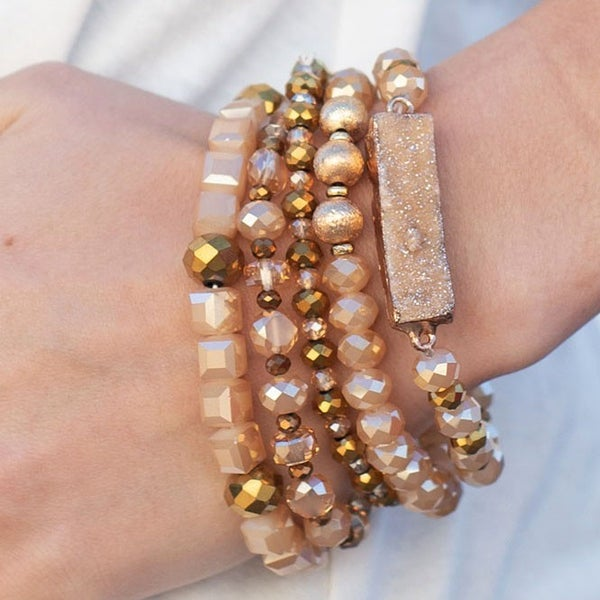 You Were Meant For Me - Bracelet Stack