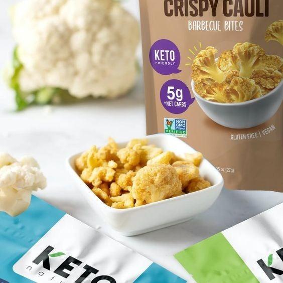BBQ Keto Cauli Chips