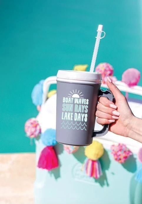 Lake Days - 22 oz Thermo Mug