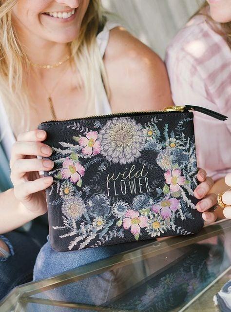Wild Flower - Tassel Pouch