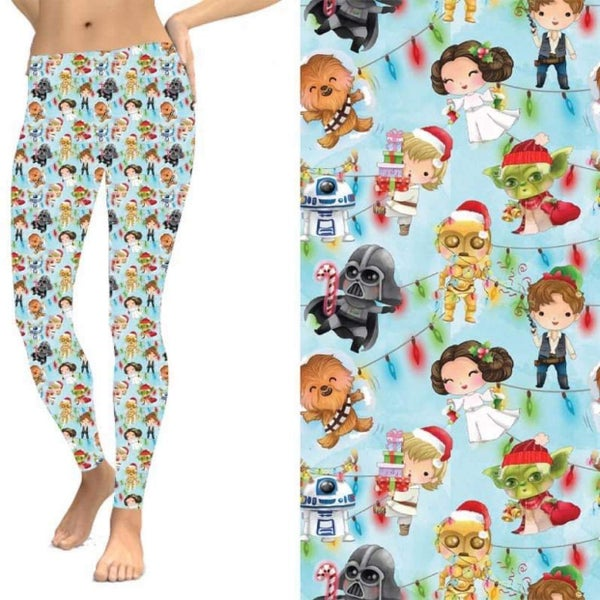 *Pre-Order* Holiday Star Wars - Leggings w/Pockets