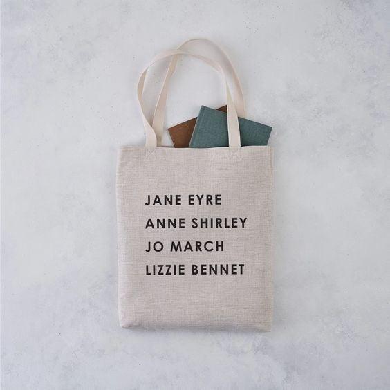 Literary Girl Gang - Tote Bag