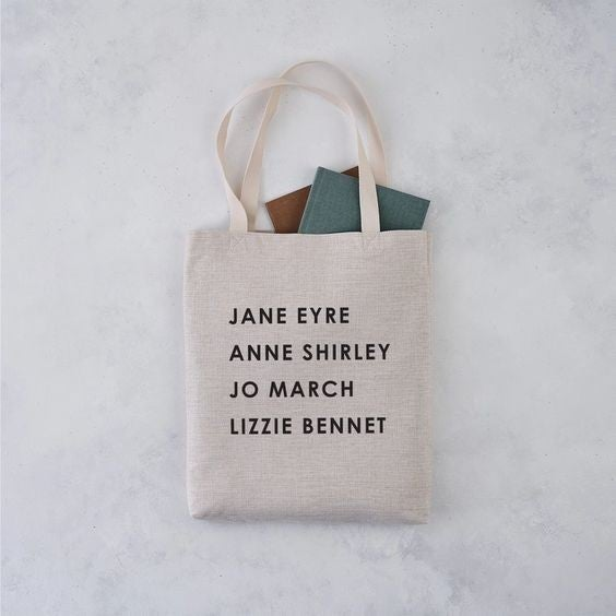 Literary Girl Gang - Tote Bag