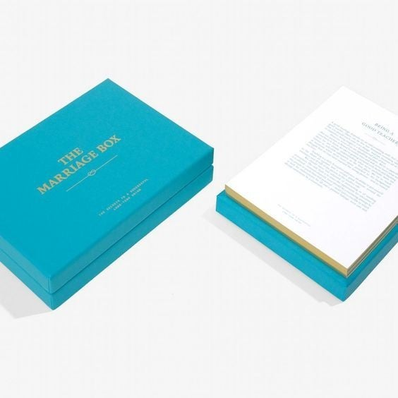 The Marriage Box Card Set
