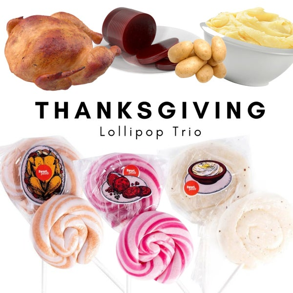 Thanksgiving Lollipop Trio