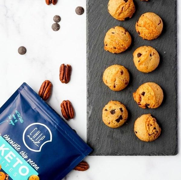 Chocolate Chip Pecan - ChipMonk Cookies - Soft-Baked Keto/GF