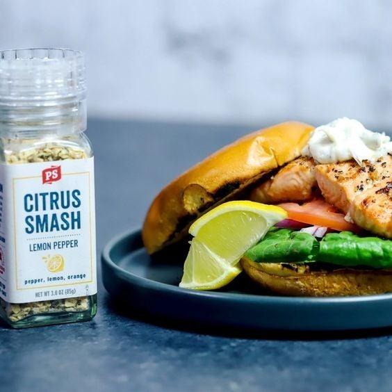 Citrus Smash - Lemon Pepper - Seasoning Grinder