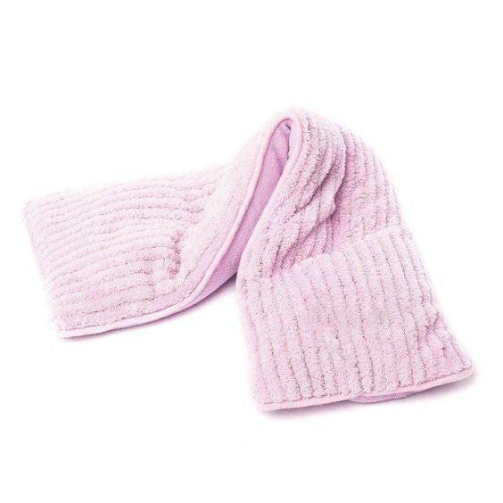 Lavender Corduroy - Heatable/Freezable Neck Wrap - Warmies