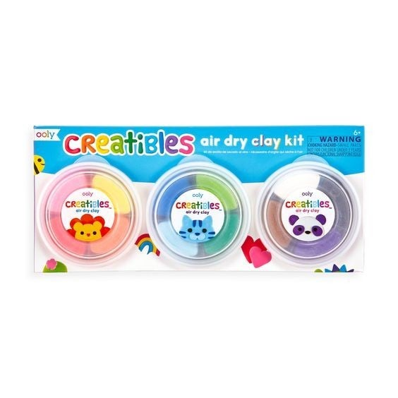 Creatibles DIY Air Dry Clay Kit