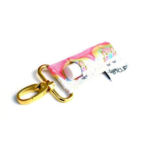 LippyClip Lip Balm Holder - Rainbow Unicorn