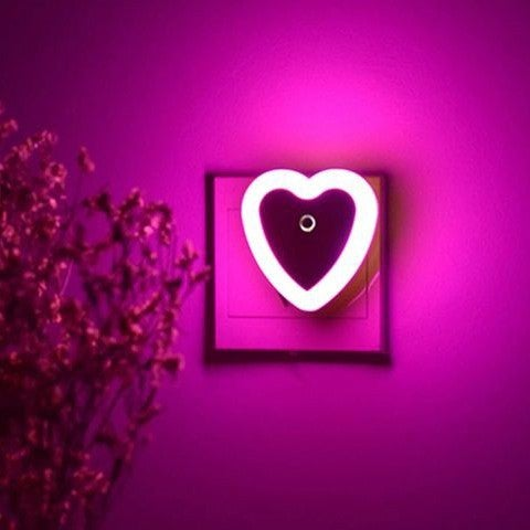 Heart Shaped Mini Night Light