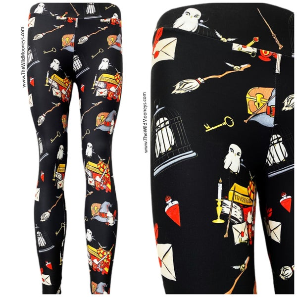 Kids + Adult: Potter's Travels Leggings