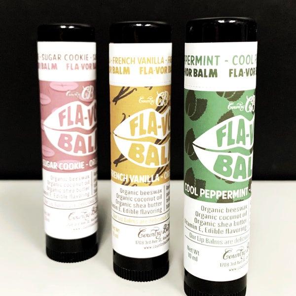 Baking Trio: Fla-Vor Balm - Organic Lip Balm
