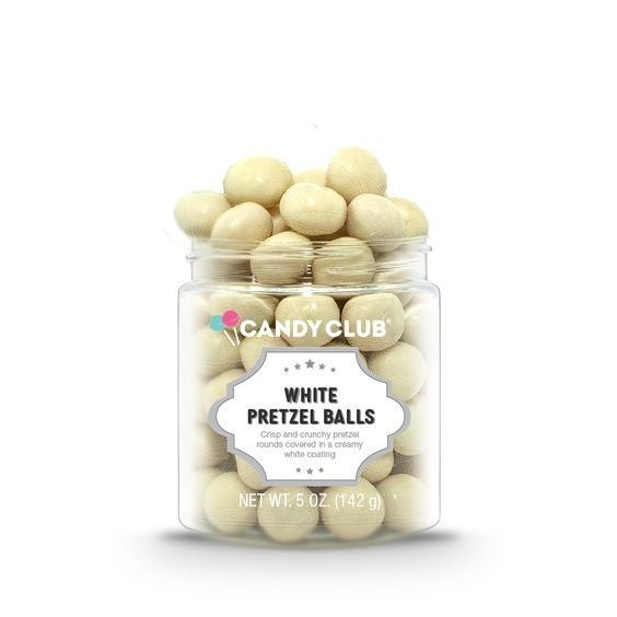 White Pretzel Balls - Limited Edition - Candy Club
