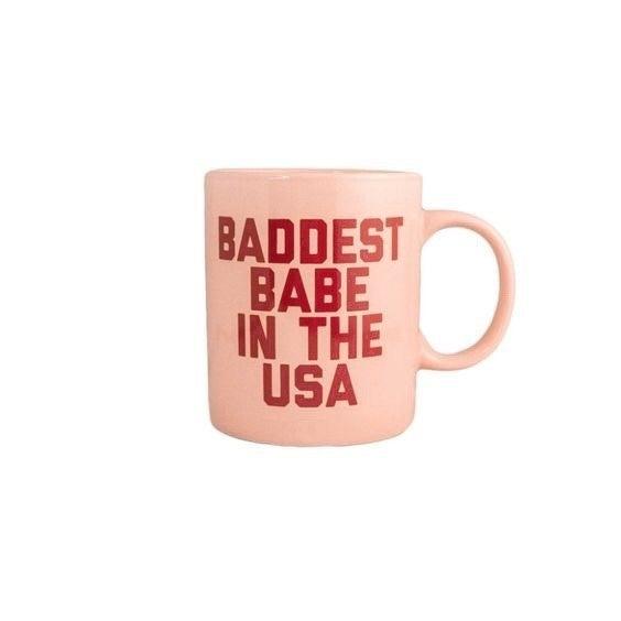 Baddest Babe in the USA - 12 oz Mug