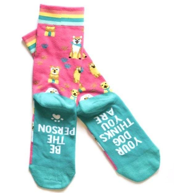 Be The Person Your Dog Thinks You Are - Socks - JLB